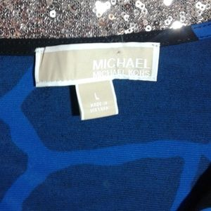 MICHAEL Michael Kors Dresses - NWOT MIchael Kors Giraffe Printed Cocktail Dress L